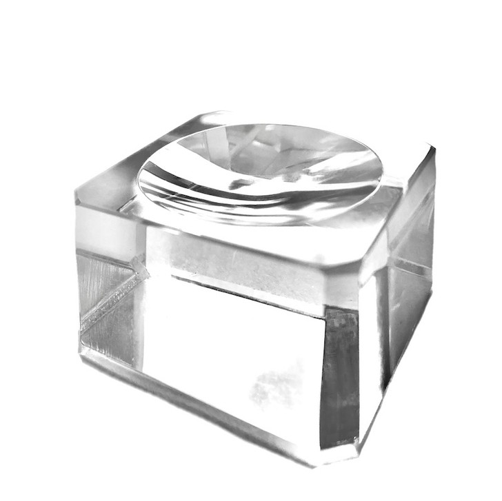 Crystal Cube Display Stand