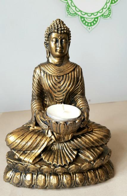 Buddha Statue (Female) Tealight Holder