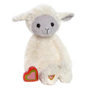 Lamb Vintage Heartbeat Animal-Large