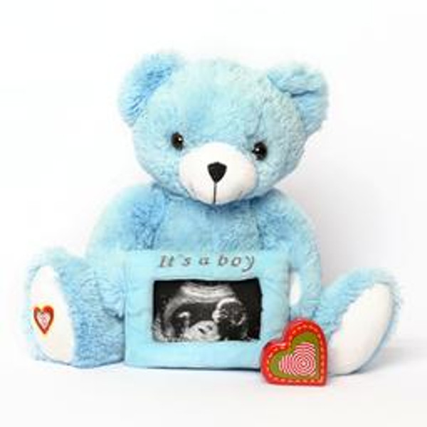 Blue Gender Reveal Bear