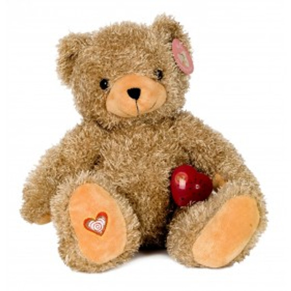 """HERITAGE COLLECTION"" HeartBeat Brown Bear (Full size)"