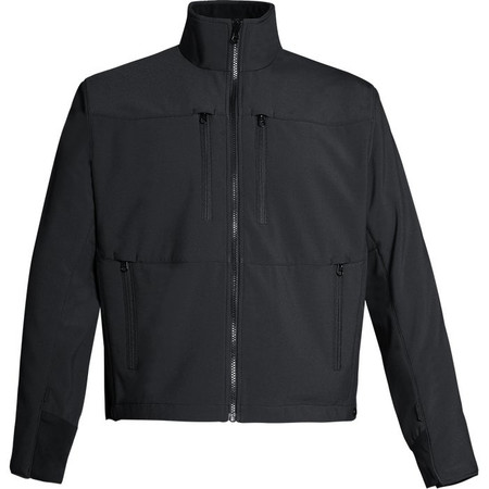 SOFTSHELL LAYERTECH JACKET Black