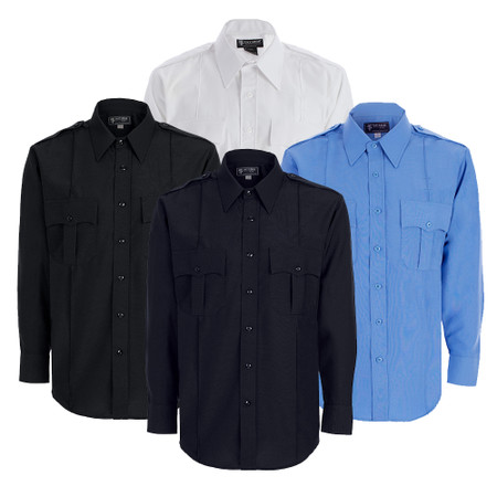 Men's Polyester Long Sleeve Shirt