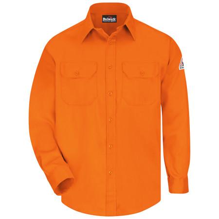 Bulwark FR SLU8 Men's Uniform Shirt - EXCEL FR ComforTouch - 6 oz.