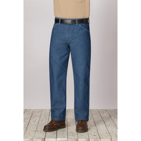 Bulwark FR PEJ4DW Men's Classic Fit Pre-Washed Denim Jean - EXCEL FR - 14.75 oz.