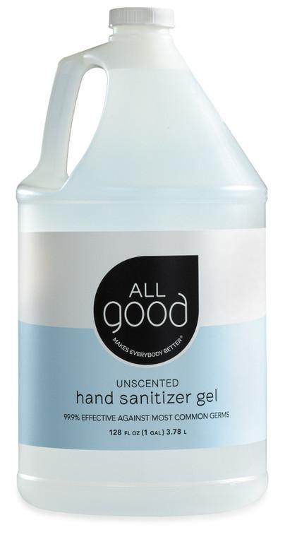 All Good Hand Sanitizer Gel, Gallon Cases