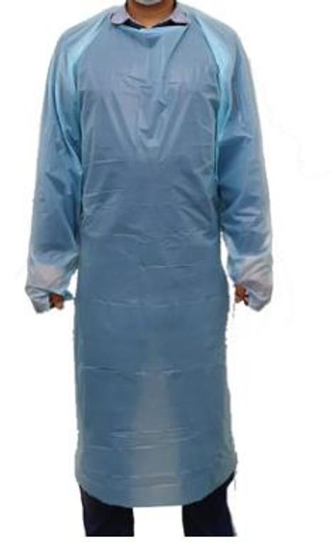 Disposable Gown w/ PEVA Nylon Level 1