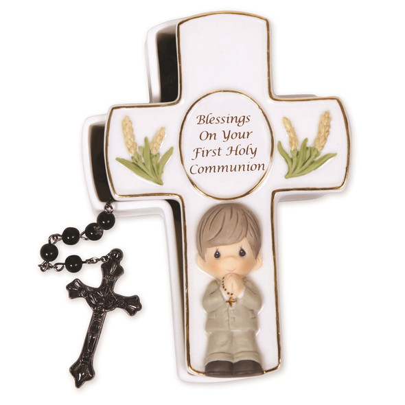 Precious Moments Blessings First Holy Communion Rosary Box GM13879