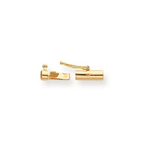 10.3mm x 2.8mm 14k Yellow Gold Replacement Tongue for Rectangle Barrel Clasp
