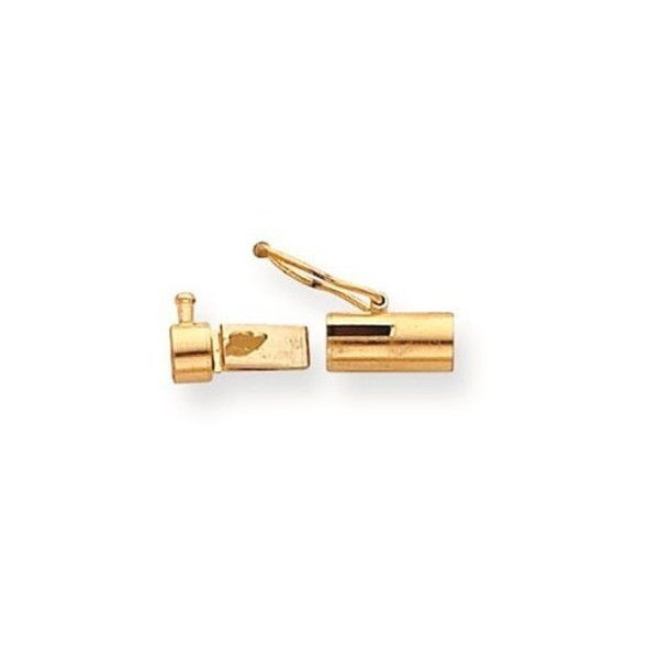 11.4mm x 4mm 14k Yellow Gold Replacement Tongue for Rectangle Barrel Clasp
