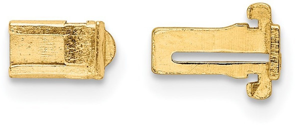 3.3mm 14k Yellow Gold Double Action Clasp