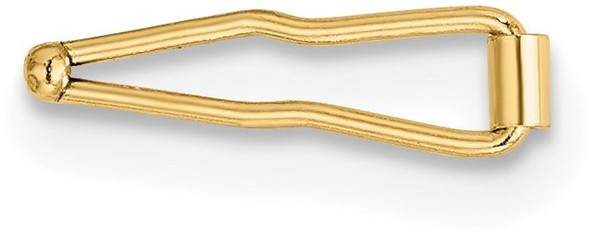 3mm 14k Yellow Gold Safety Figure 8 Clasp
