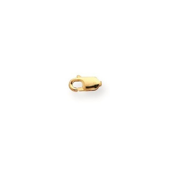 3.2mm 10k Yellow Gold Standard Weight Lobster Clasp