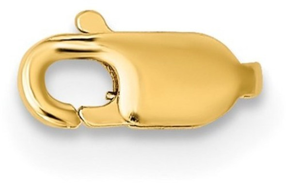 2.6mm 14k Yellow Gold Standard Weight Lobster Clasp