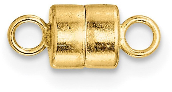 4.5mm 14k Yellow Gold Magnetic Clasp