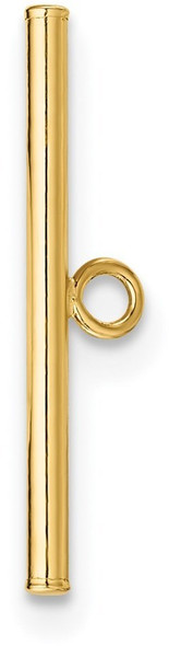 17.9mm 14k Yellow Gold Toggle Bar for Clasp