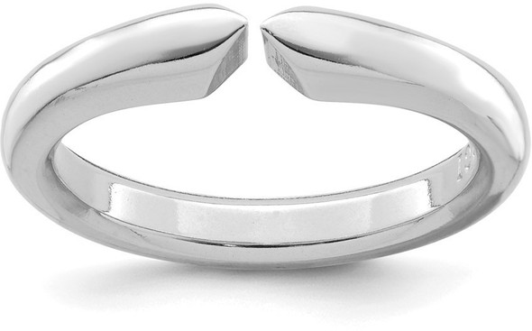14k White Gold 4-prong Comfort Fit Very Heavy Weight Shank