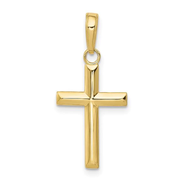 10k Yellow Gold Small Cross Pendant