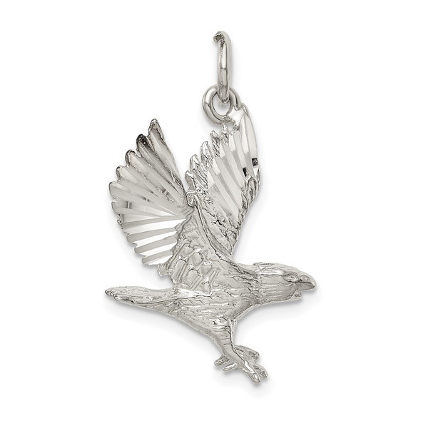 Sterling Silver Eagle Charm QC871