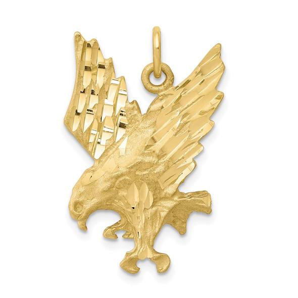 10k Yellow Gold Eagle Charm 10C615
