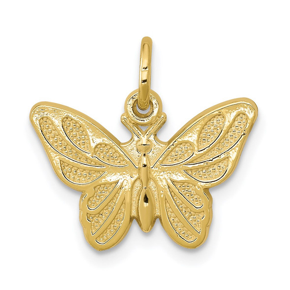 10k Yellow Gold Butterfly Charm 10C640