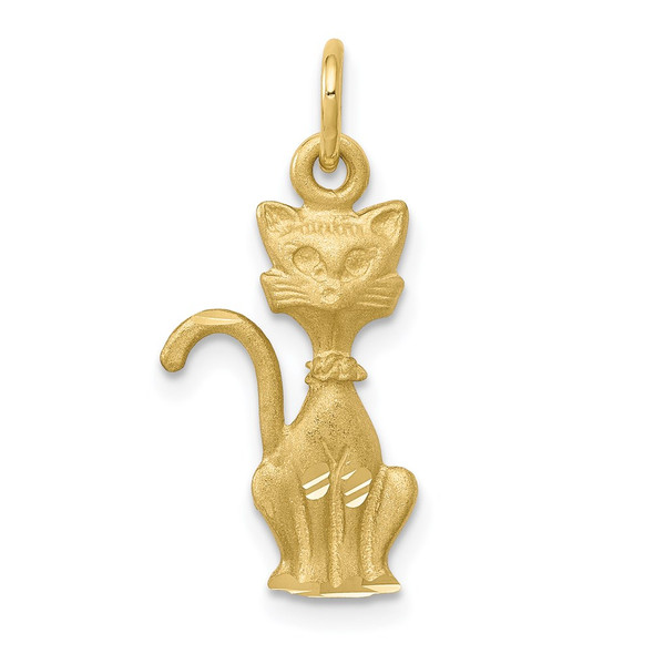 10k Yellow Gold Tom Cat Charm