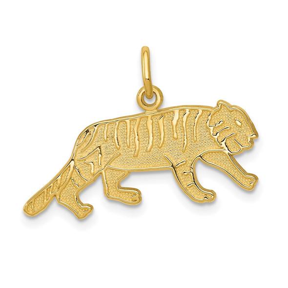 14k Yellow Gold Tiger Charm C1845