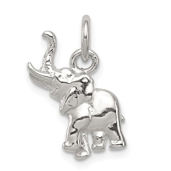Sterling Silver Elephant Charm QC2552