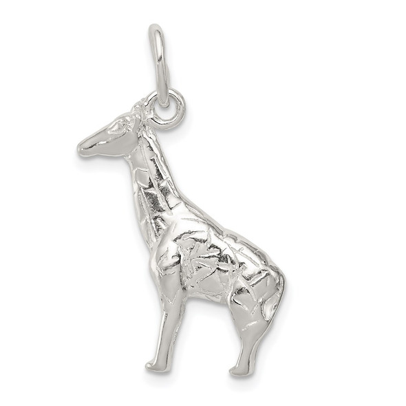 Sterling Silver Giraffe Charm QC5030