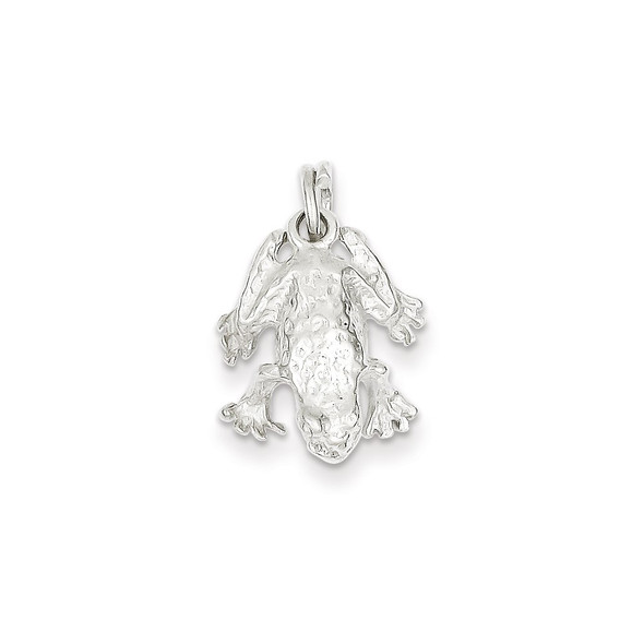 Sterling Silver Frog Charm QC1793