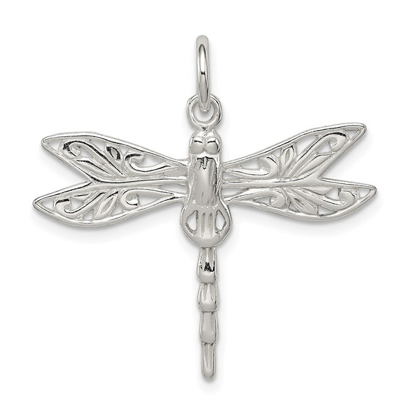 Sterling Silver Dragonfly Charm QP1158