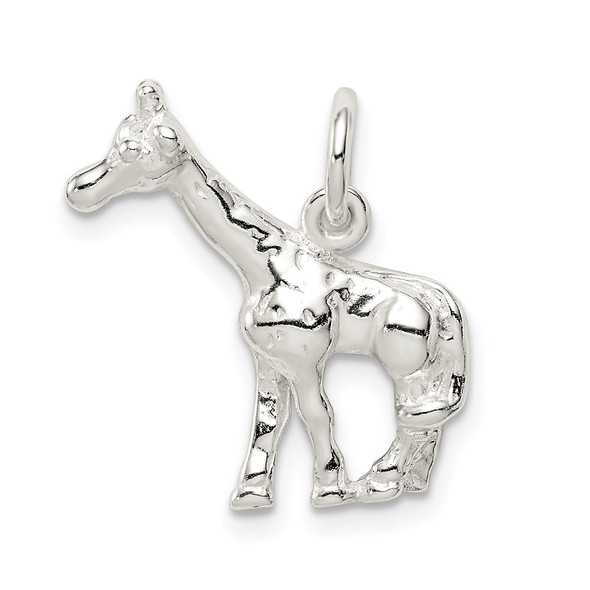 Sterling Silver Giraffe Charm QC6365