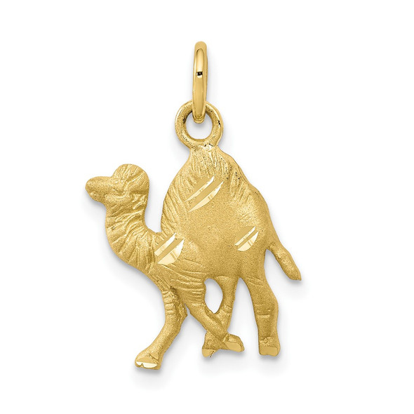 10k Yellow Gold Camel Charm