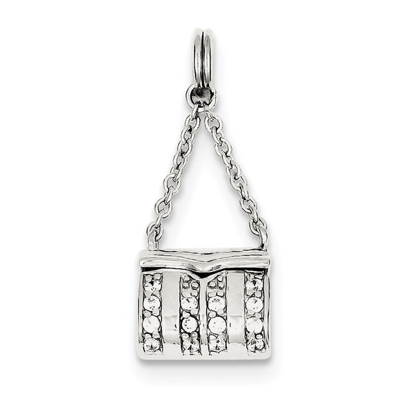 Sterling Silver Purse Charm