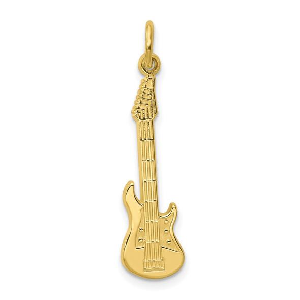 10k Yellow Gold Guitar Charm 10C746