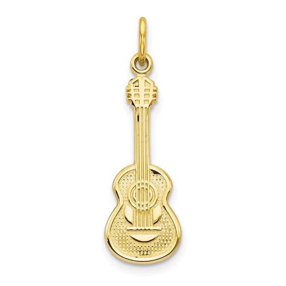 10k Yellow Gold Guitar Charm 10C200