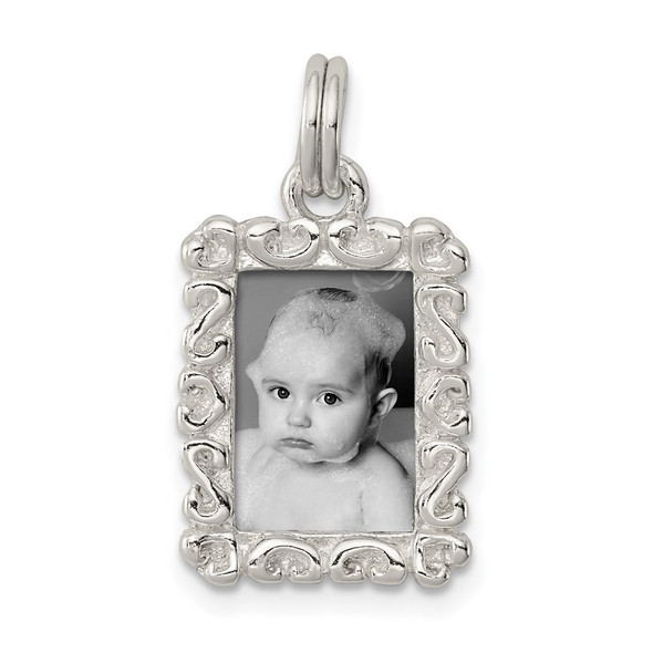 Sterling Silver Photo Charm