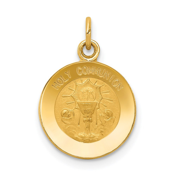 14k Yellow Gold Holy Communion Charm XR360