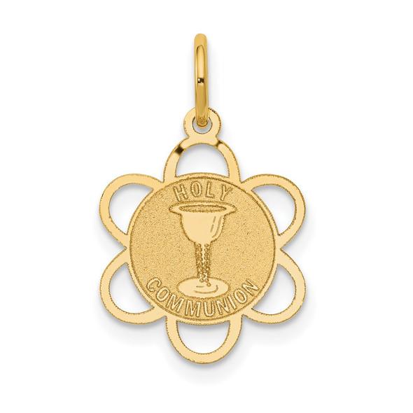 14k Yellow Gold Holy Communion Charm XAC711