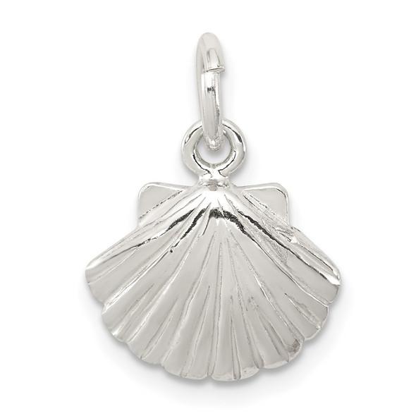 Sterling Silver Shell Charm QC2524