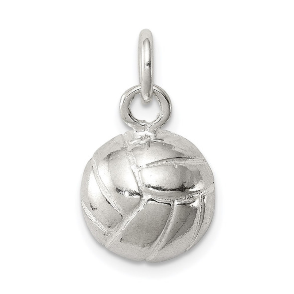 Sterling Silver Volleyball Charm QC709