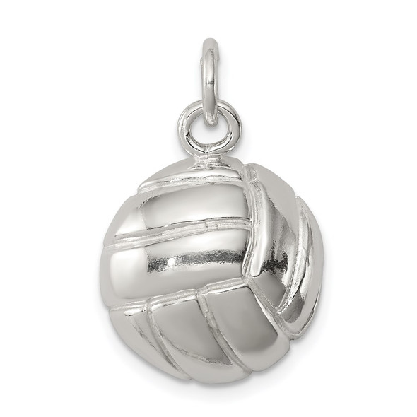Sterling Silver Volleyball Charm QC703