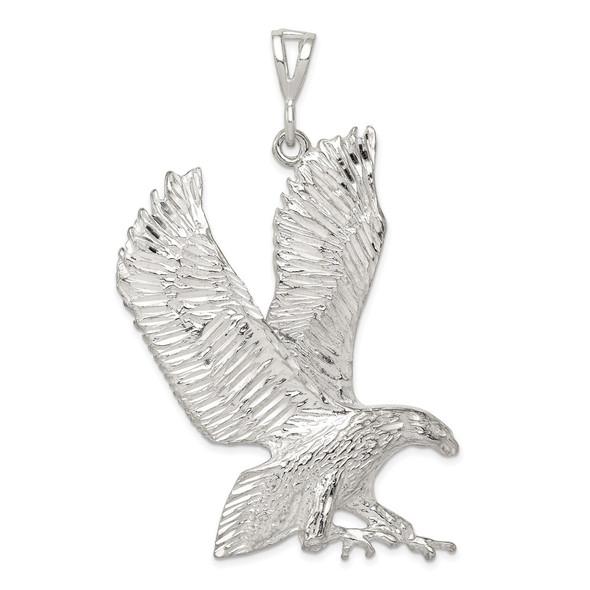 Sterling Silver Eagle Pendant QC864