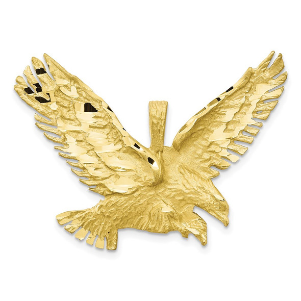 10k Yellow Gold Eagle Pendant 10C612