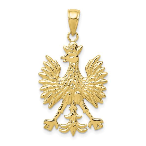 10k Yellow Gold Eagle Pendant 10k4925