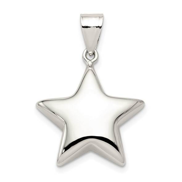 Sterling Silver Star Pendant QC1670
