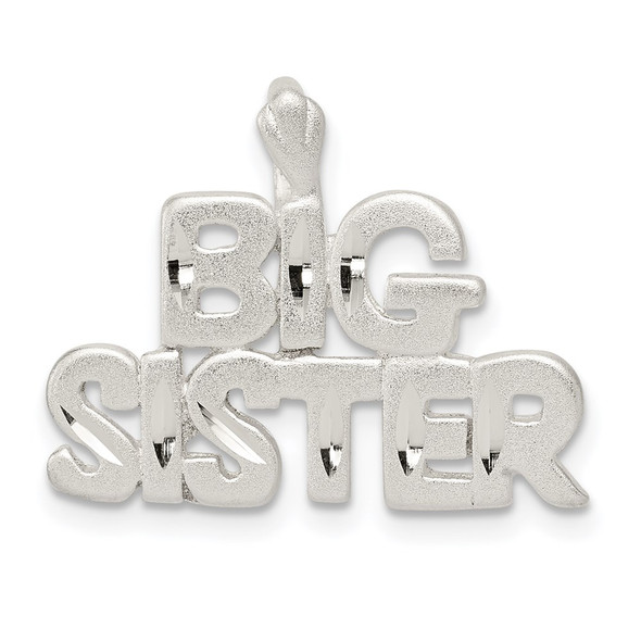 Sterling Silver Big Sister Pendant