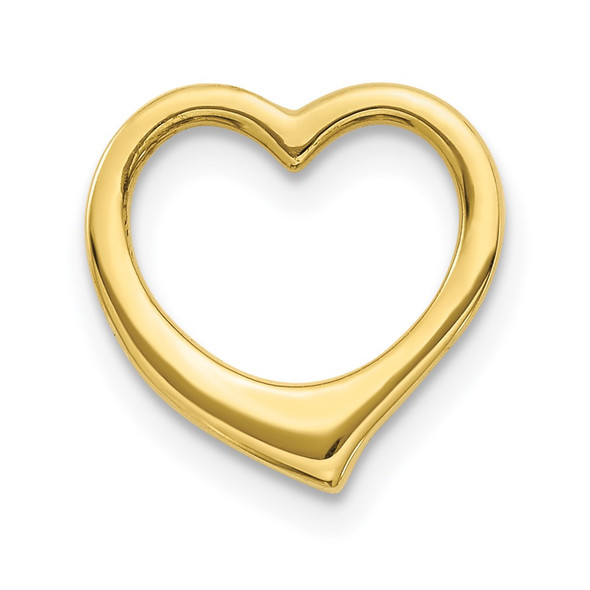 10k Yellow Gold Polished Heart Slide 10C2917