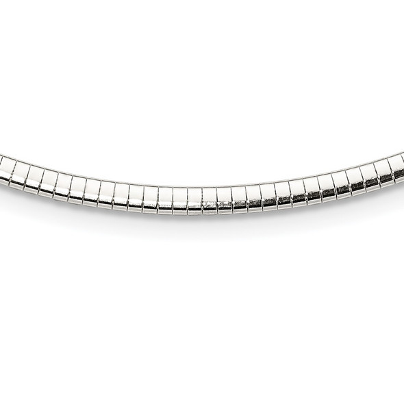 Sterling Silver 3mm Cubetto Necklace QU3-18