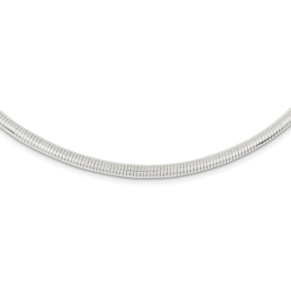 Sterling Silver Round 3.75mm Neckwire Necklace